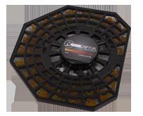 PU6015 XD6061F0 PU6025 Aktivkohle Filter für Rowenta Intense Pure Air XL